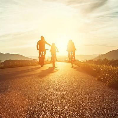rutas bici Camping Bolaso