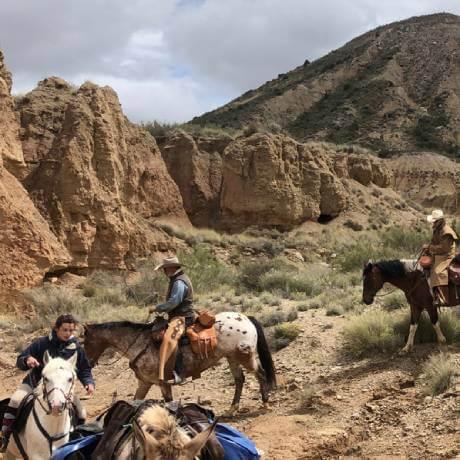 excursiones a caballo las bardenas