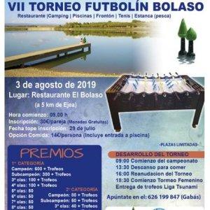 torneo futbolin bolaso 2019