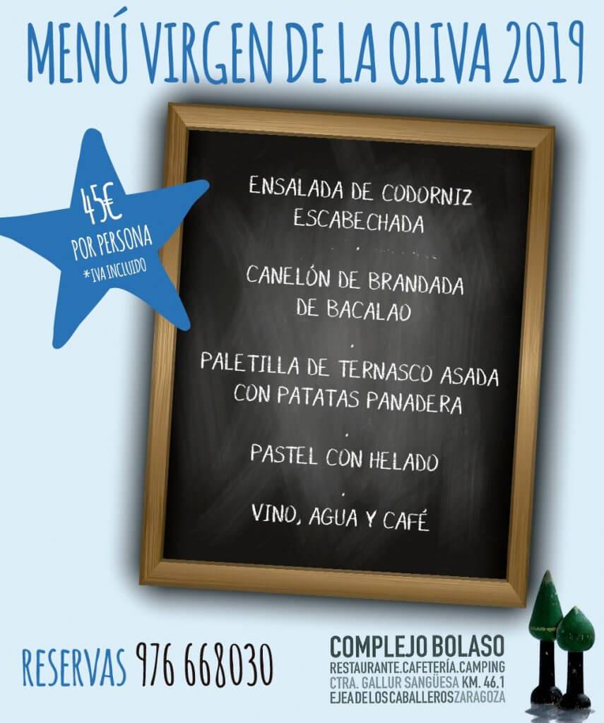 menu virgen oliva bolaso